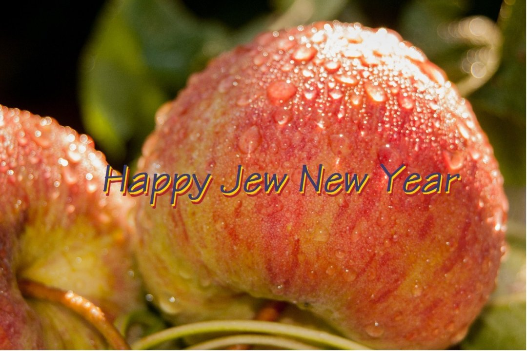 Happy Jew New Year 5778